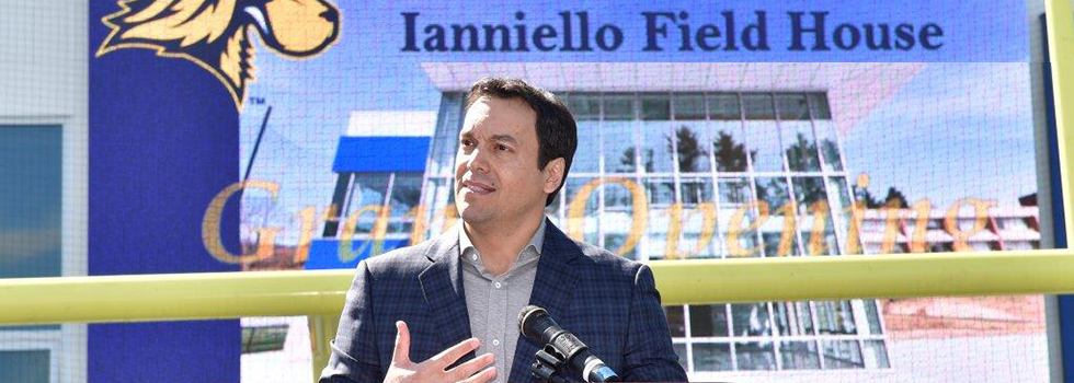 Ianniello Field House Grand Opening